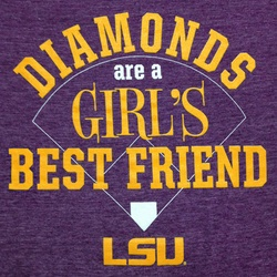Highland & State Ladies Purple LSU