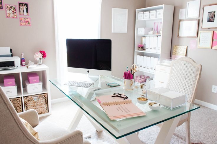Graceful Home Office: Moodboards: Office | nousDECOR.com