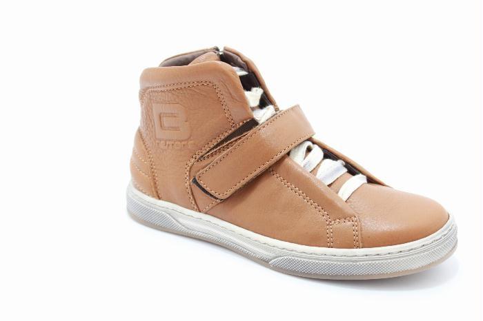 schoenen en kinderschoenen Cole bounce restore sneaker in Cognac calfskin leather...