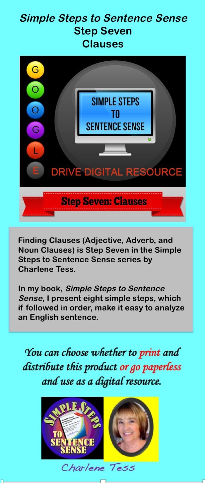 Go #paperless with this #GoogleDrive Digital resource. #TpTdigital