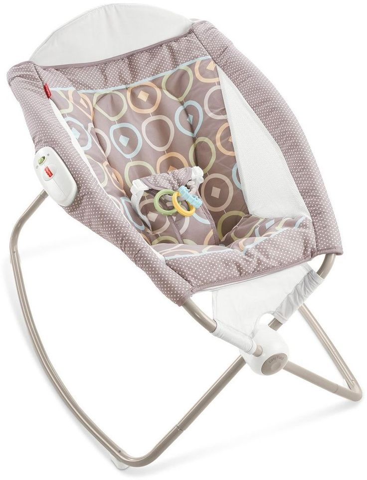 Baby Sleeper Playtime Seat Rock N Play New Born Soft Relaxing Little Snuggling  #FisherPrice