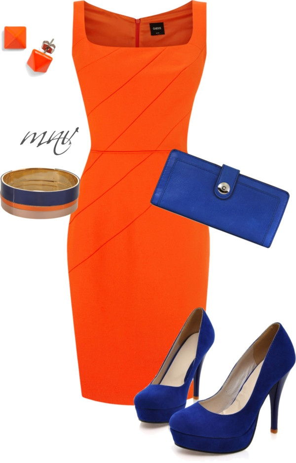"""BE BOLD"" by mverros on Polyvore. Gorgeous combination"