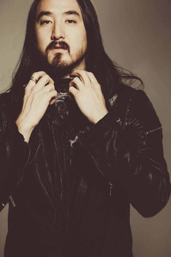 Steve Aoki. I don't like his music but he looks so fine to me... I love Japanese men!