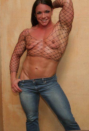 Muscle Women  Sensual Transparency  Roupas Transparentes -4031
