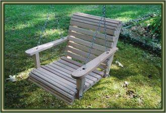 Swing Chair - Wooden Swing for children!
