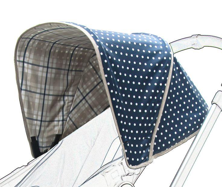 Poplico - Tettuccio parasole pieghevole per passeggino Bugaboo Cameleon: Amazon.it: Prima infanzia