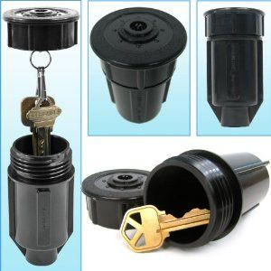 Discrete Sprinkler Head - Hide a Key - As Seen on TV Discrete Sprinkler Head - Hide a Key - As Seen by Trademark Global. $43.42. Brand Name: Trademark Global Mfg#: 72-0338. This product may be prohibited inbound shipment to your destination.. Shipping Weight: 1.00 lbs. Picture may wrongfully represent. Please read title and description thoroughly.. Please refer to SKU# ADX4144321 when you inquire.. The Sprinkler Key Holder is made from a real sprinkler system head s...