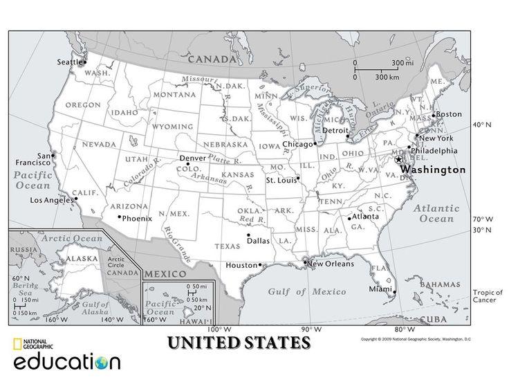 The Best Latitude Longitude Ideas On Pinterest Map - Us latitude map