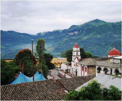 Pahuatlan, Puebla. Pueblo mágico.