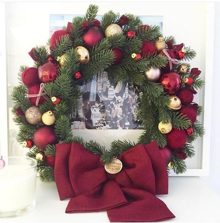Рождественский венок/ Christmas wreath