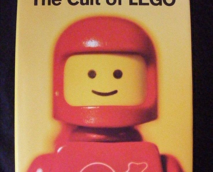 THE CULT OF LEGO - Legos Book - Hardcover - Perfect Condition - History Culture