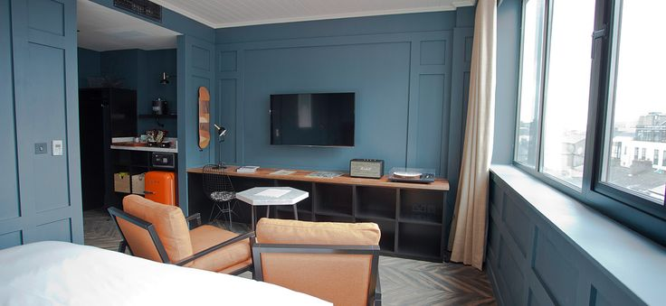 Double rooms at The Dean hotel on Harcourt Street, Dublin 2. Huge bed, power shower, Smart TV, and loads more. Exclusive deals on the Official Website.