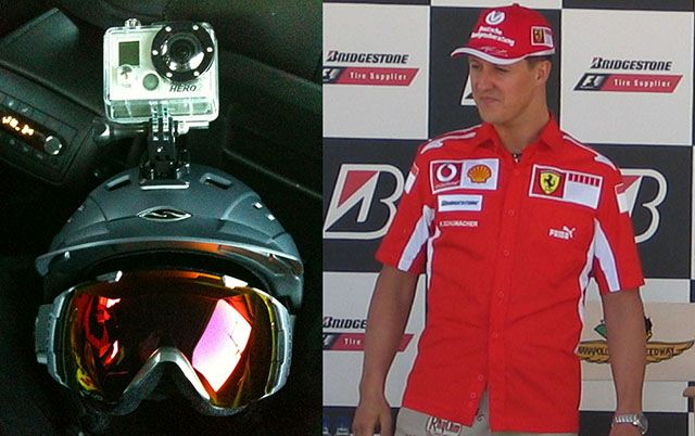 Michael Schumacher's Ski Accident Brain Injury Said to Be Caused by his GoPro Helmet Cam - http://thedreamwithinpictures.com/blog/michael-schumachers-ski-accident-brain-injury-said-to-be-caused-by-his-gopro-helmet-cam