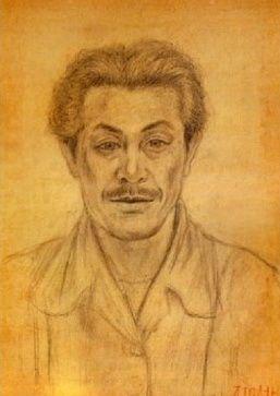 Lee Jung-seob(Korean, 이중섭, 1916 - 1956), Self-portrait