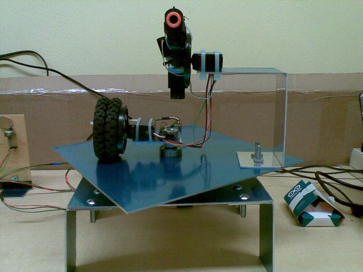 Building a Sentry Gun with Laser Trip Wire System and Arduino by dasxodnes on instructables.com