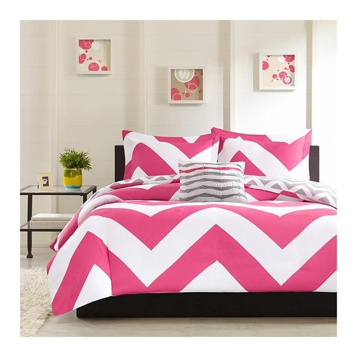 libra full 4piece comforter set in pink nebraska furniture mart