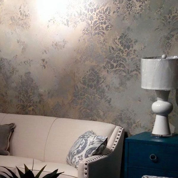 Metallic Plaster Wall Treatment by Shauna Gallagher | Modern Masters Hot  Projects and Colors 2015