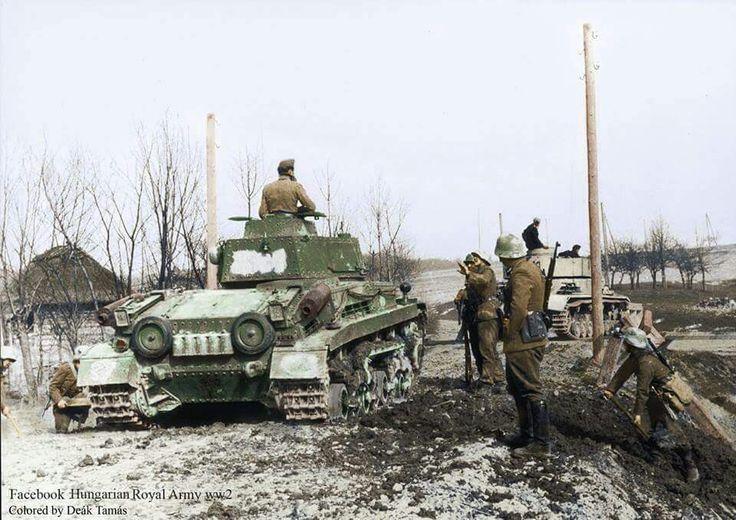 Hungarian Turan tank 1941