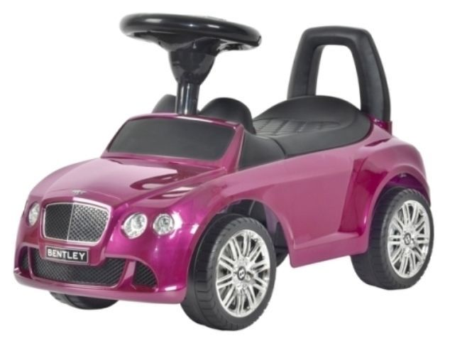 Other Outdoor Toys Structures 11742: Bentley Licensed Ride On Push Car For Babies And Toddlers -> BUY IT NOW ONLY: $55 on eBay!