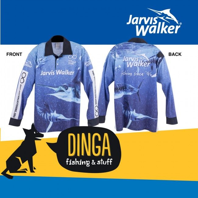 Jarvis Walker Marlin Print Tournament #Shirts offered on February Sale in Australia provided by Dinga Fishing Tackle Shop!