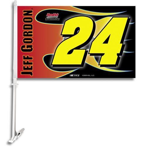 Jeff Gordon #24 NASCAR Car Flag