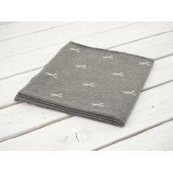 NOŻYCZKI (biały) / eko melanż - PE240 #nowość#materiał #dresówka#dzianina#new#fabric#sweatshirt#materials#shop#dresowkapl