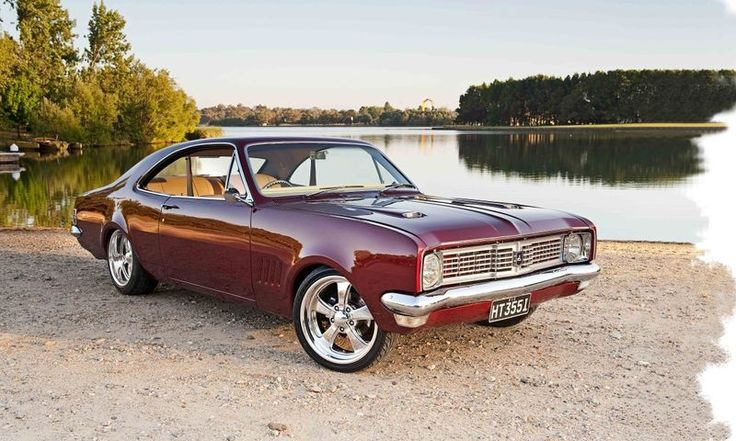 ◆ Visit MACHINE Shop Café... ◆ ~ Aussie Custom Cars & Bikes ~ (1969 HT Holden Monaro GTS 350)