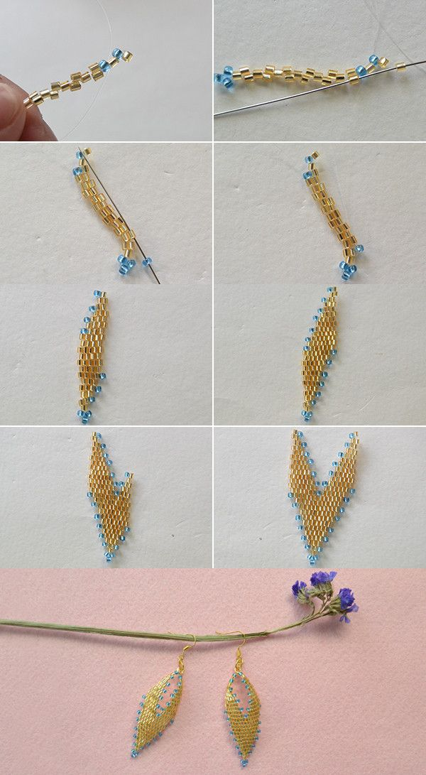 leaf earrings, like them? LC.Pandahall.com will publish the tutorial soon. #Pandahall