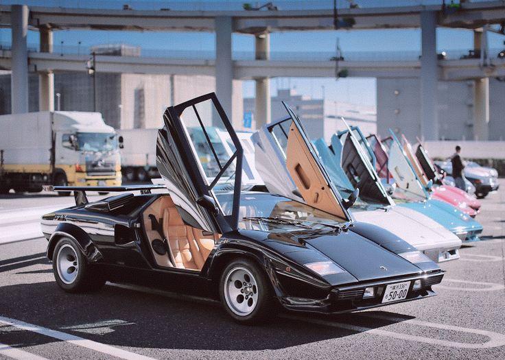 Best Lamborghini Countach Images On Pinterest Car