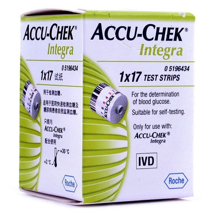 Accu-Chek Integra Test Strips Buy Online at Best Price in India: BigChemist.com