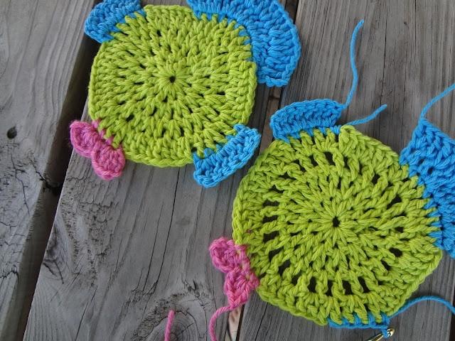 Free Crochet Fish Potholder Pattern : Die 96 besten Bilder zu Crochet: Kitchen, Bath, and Around ...