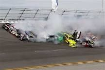 Image result for nascar monster energy race big wreck at talladega today