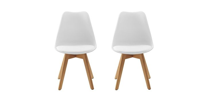 Chaise scandinave lot de 2 commandez nos chaises scandinaves mobili - Chaise style scandinave ...