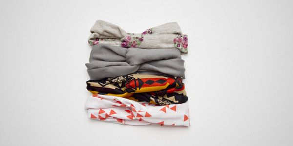 Baby turban headbands. Finally found one with all the measurements!! Infant thru adult I think. Want all of these, so cute! And she has a great fabric source.