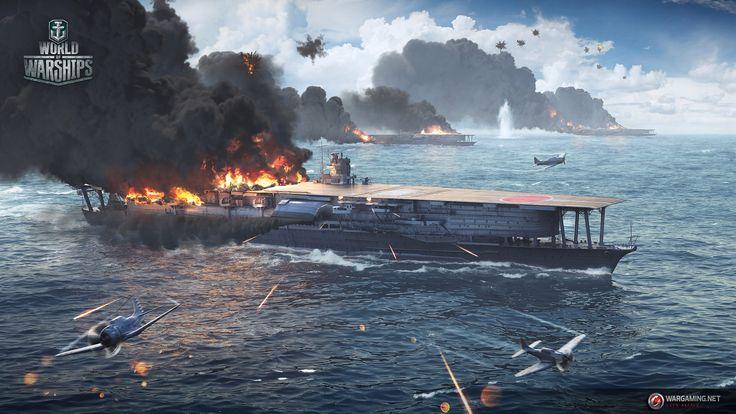 Midway #Battle #IJN #Akagi | Wallpapers | Pinterest
