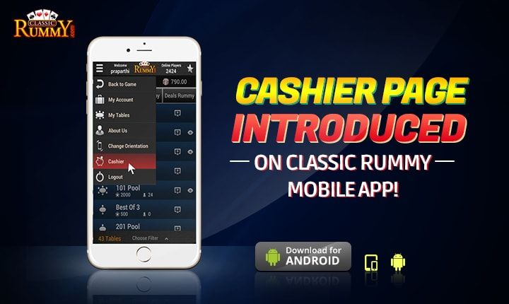 Play your favourite cash games on the move at Classic Rummy!  https://www.classicrummy.com/play-rummy-games-on-mobile?link_name=CR-12  #rummy #classicrummy #cashgames #mobilegames #mobilerummy