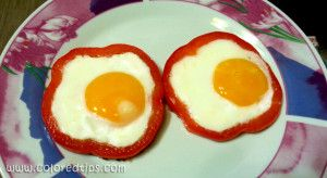 Egg In Bell Pepper Ring Recipe – easy, tasty and beautiful breakfast