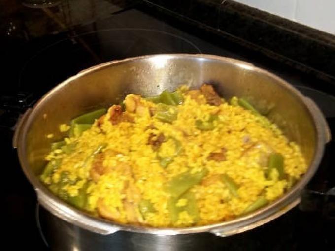 Receta : Arroz con pollo en olla rápida, al estilo de mariaje por MariajeLacomba