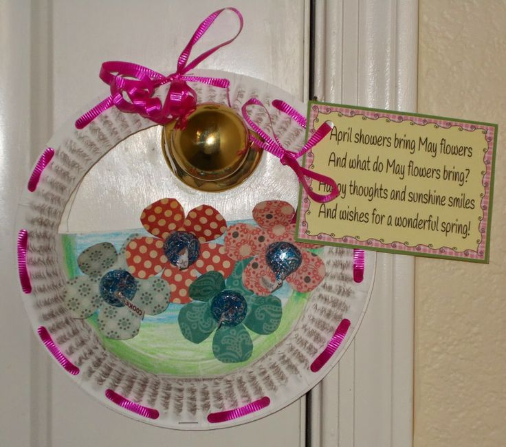 May Flower Basket Ideas & May Flower Basket Ideas: Easy and inexpensive may basket idea.