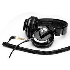Skullcandy - Mix Master DJ Headphones w/Mic - Black