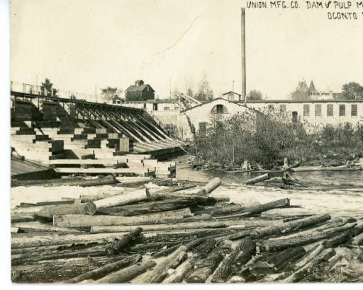 Union Manufacturing Co. Dam & Pulp Mill, Oconto Falls (Wis.) :: Oconto Falls Memory Project