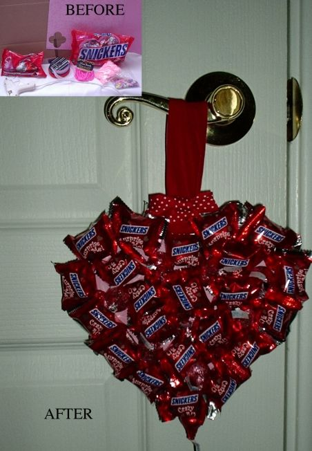 Valentine idea - this would be good for May Day as well.