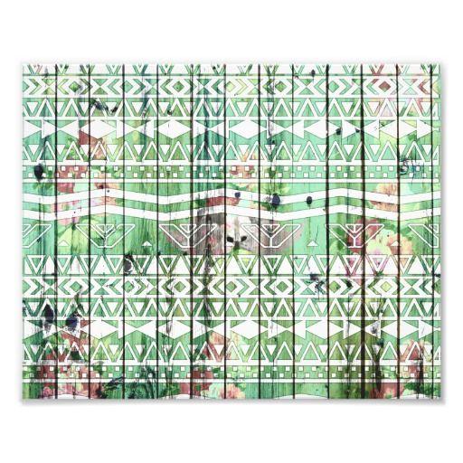 bois_vert_floral_de_motif_azteque_abstrait_de_blan_