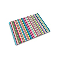 Glass Cutting Board - Multi-Color Stripes by Joseph Joseph®: Stripes Worktop, Joseph Joseph, Josephjoseph, Cut Boards, Cutting Board, Strips, Worktop Savers, Thin Stripes, Products