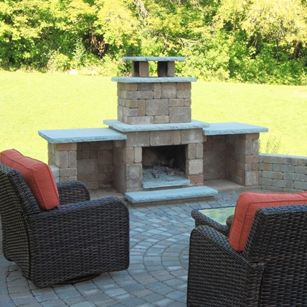Necessories Compact Outdoor Fireplace Outdoor Furniture Sets
