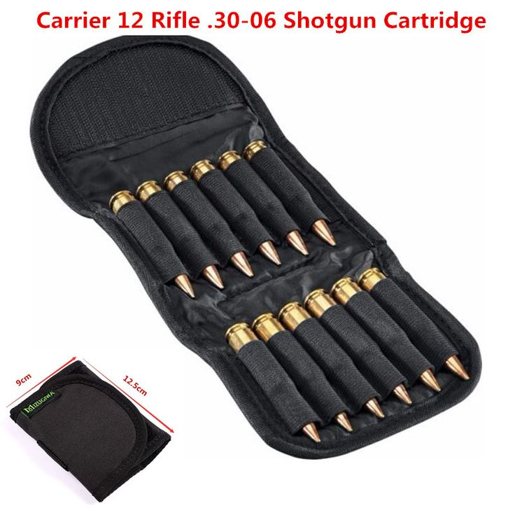 Rifle Cartridge Padded Holder Carrier 12 Rifle .30-06 Shotgun Cartridge Wallet Hunting Accessory Escopetas De Caceria Gun Caza #CLICK! #clothing, #shoes, #jewelry, #women, #men, #hats, #watches