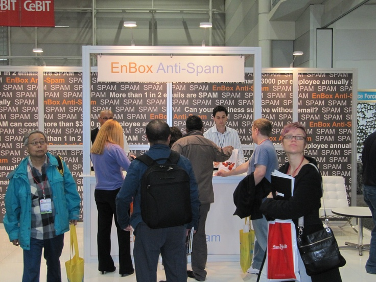 More Photo's from CeBit 2011