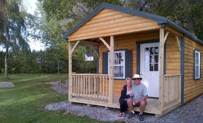 North Country Sheds In Ontario Ships Fully Assembled