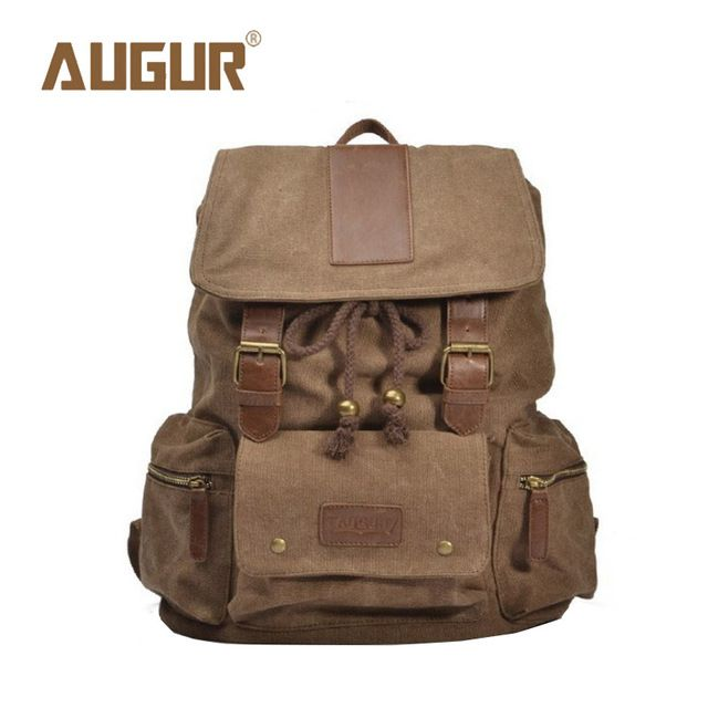 Check current price AUGUR Brand New Fashion Backpack Men's Women School Bags Canvas Bag Women Men Shoulder Bag Designer Backpacks HT100576 just only $23.63 with free shipping worldwide  #backpacksformen Plese click on picture to see our special price for you