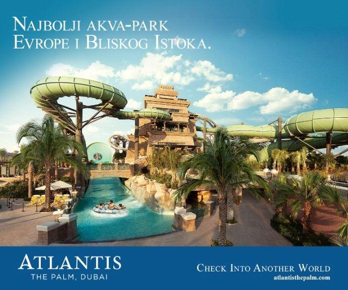Akvapark One & Only Atlantis the Palm, jurite niz tobogan i adrenalin je probudjen. One & Only hotel Atlantis the Palm - spoj raskoši, odmora na plaži i nezaboravnog Akvaparka. Vaš Dertour - jedan i jedini